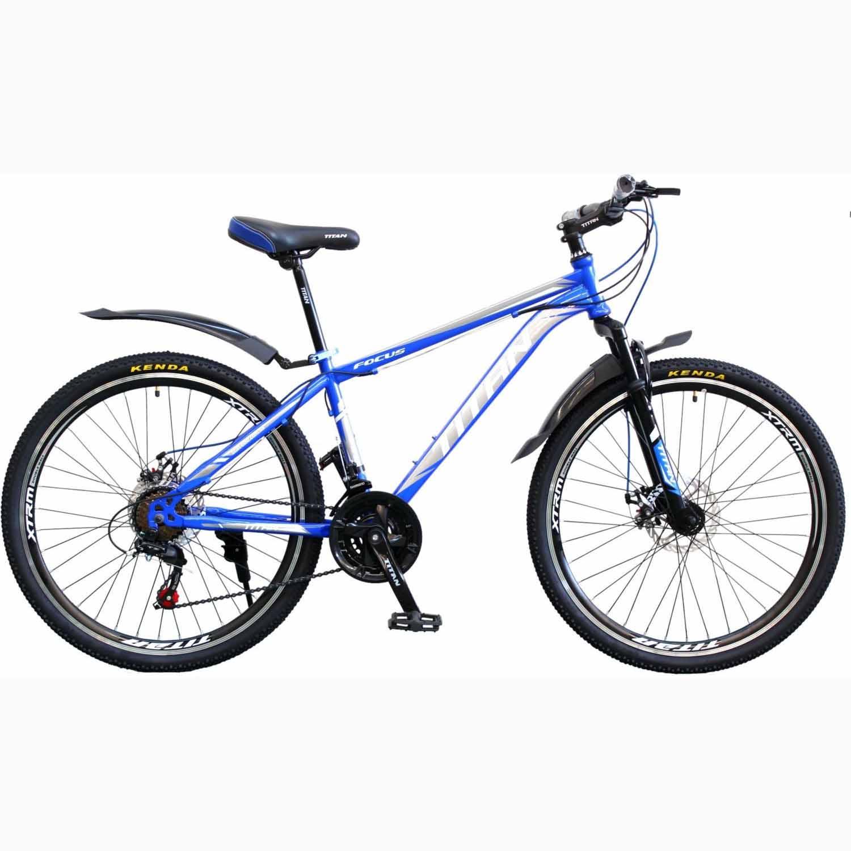 Фото Горный Велосипед Titan Focus 26 синий
