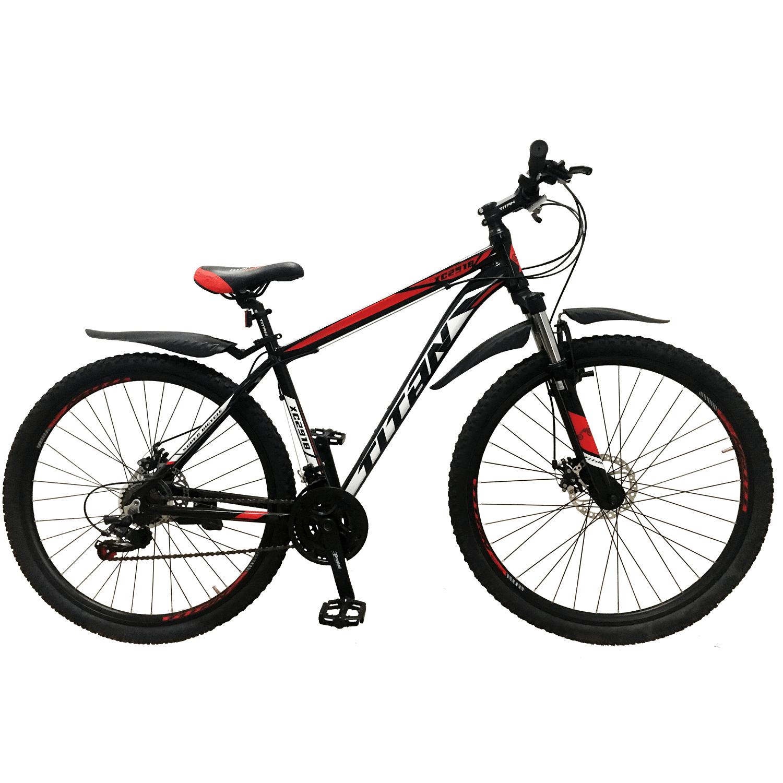 Фото Горный Велосипед Titan XC2919 черно-красно-белый