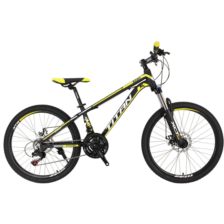 Фото Горный Велосипед Titan Atlant 24 черно-желто-белый
