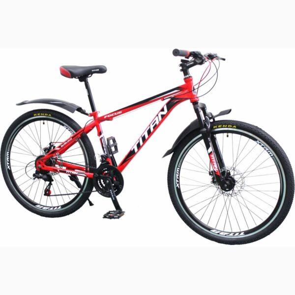 Фото Горный Велосипед Titan Focus 26 красный