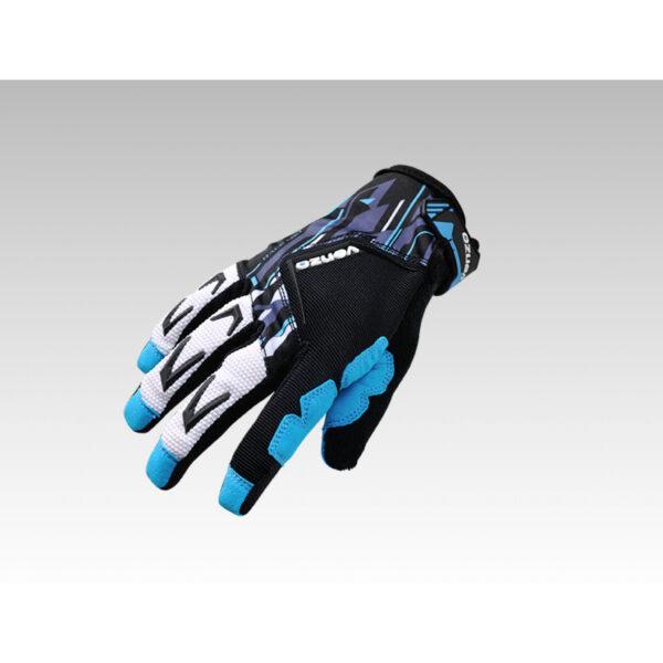 Фото Перчатки VENZO VZ-F29-006 с пальцами L синие