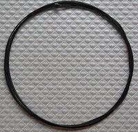 Фото Полированный тормозной нерж.тросик (STS-S-T), черный
