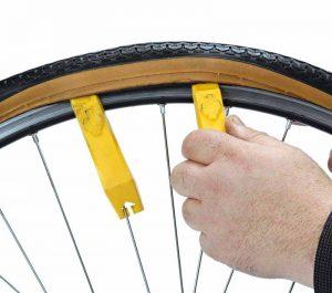 как снять покрышку велосипеда фото