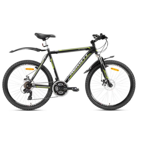 Фото Горный Велосипед   26 Avanti Meteorite disk 2016 черно-желтый