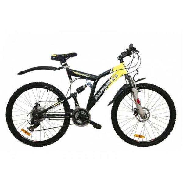 Фото Двухподвесный Велосипед 26 Avanti Phoenix disk черно-желтый