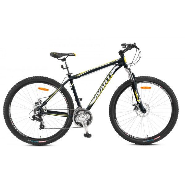 Фото Горный Велосипед   26 Avanti Smart disk 2015 черно-желтый