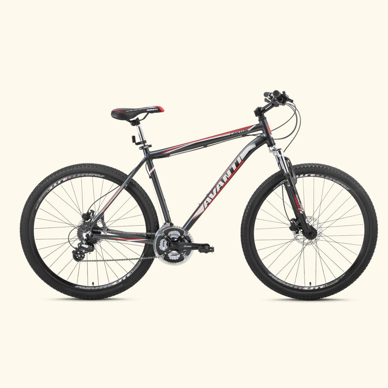 Фото Горный Велосипед   27,5 Avanti Canyon disk 2015 гидравлика черно-красный