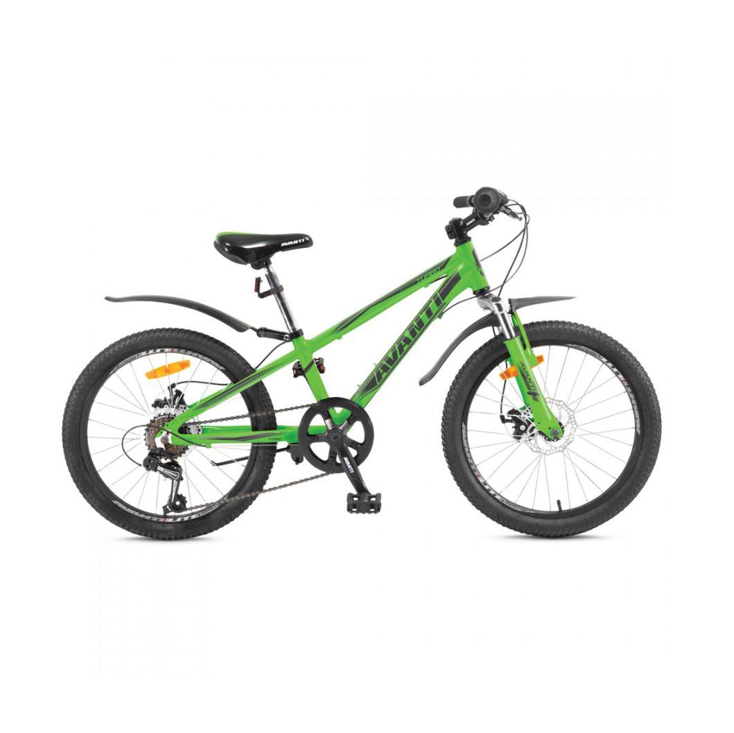 Фото Детский Велосипед 20 Avanti Turbo disk ALU зеленый