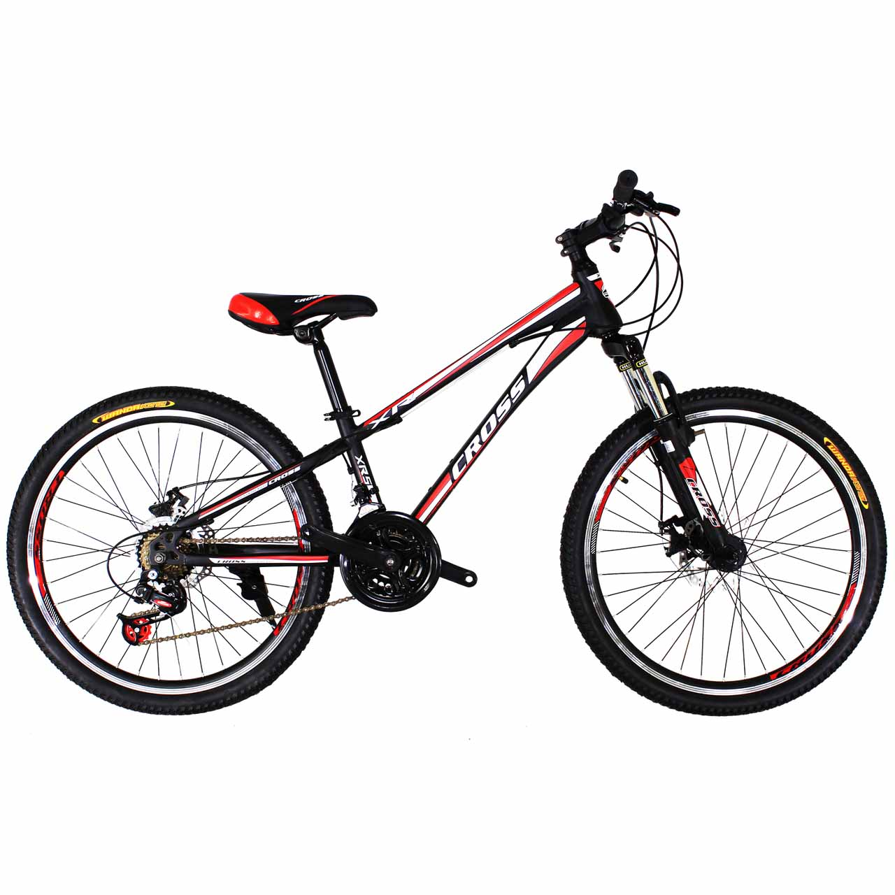 Фото Cross Racer 24 Black-Red-White