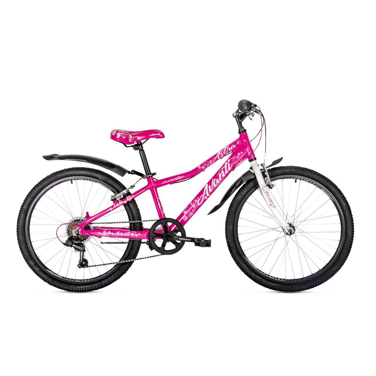 Фото Подростковый Велосипед 24 Avanti Jasmine 2018 розовый