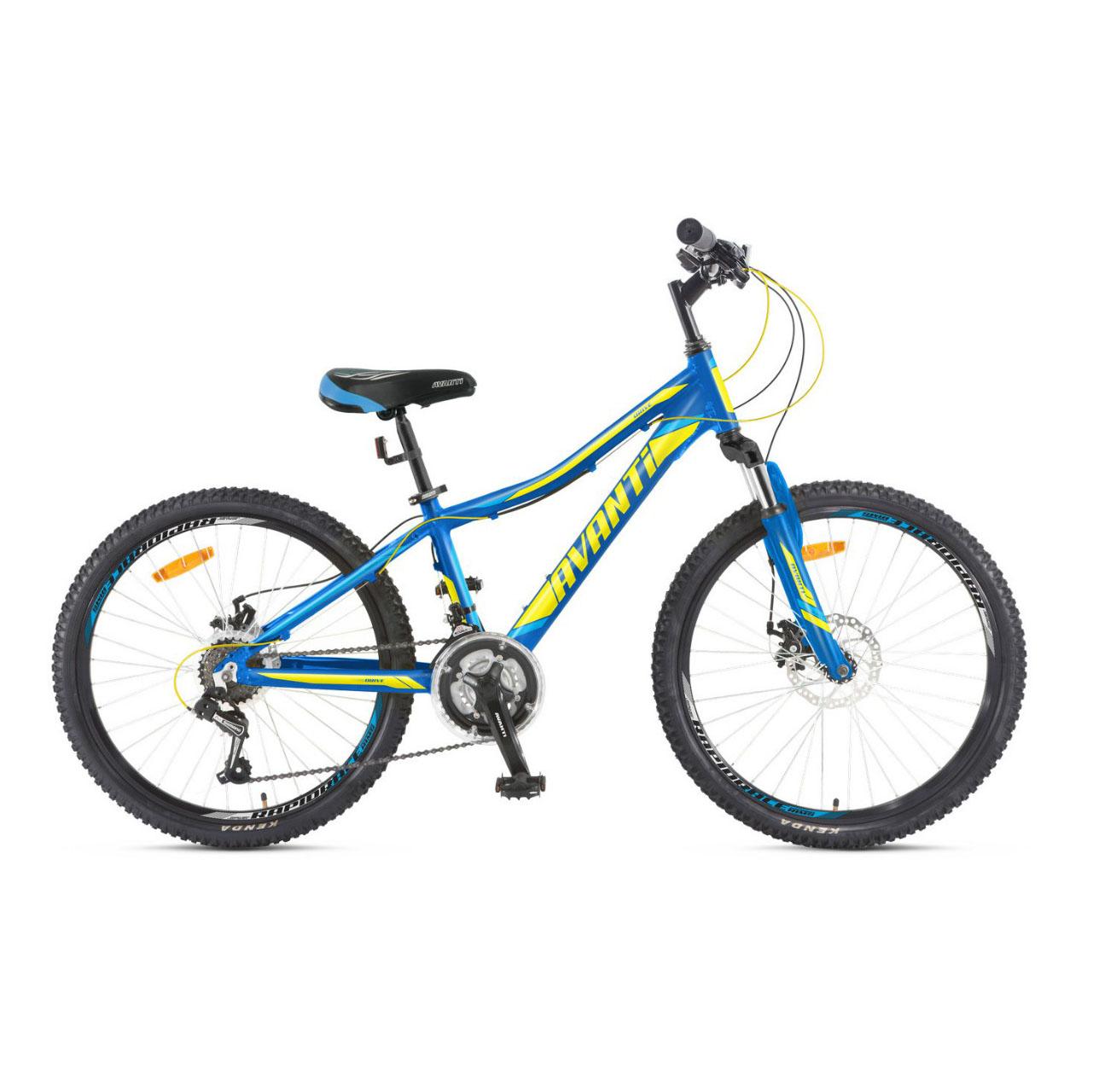 Фото Подростковый Велосипед 24 Avanti Drive disk 2018  сине-зеленый