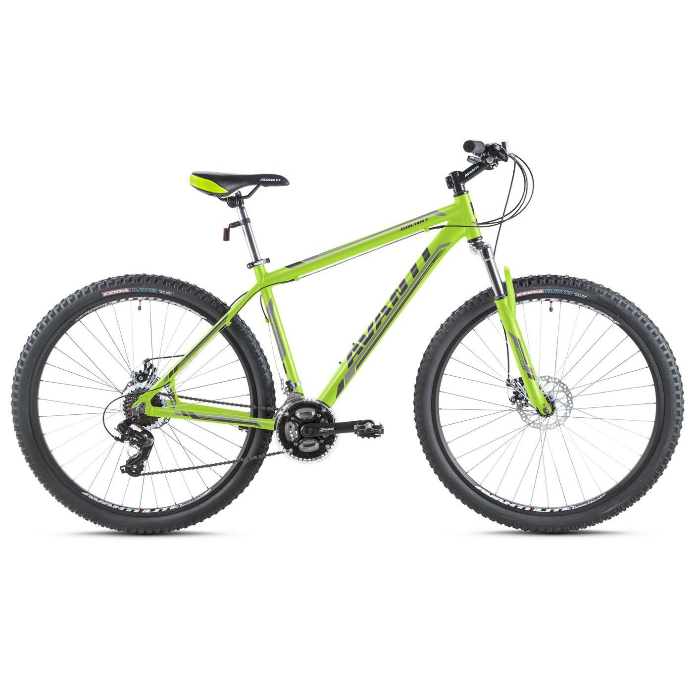 Фото Горный Велосипед   27,5 Avanti Galant disk 2016 зеленый
