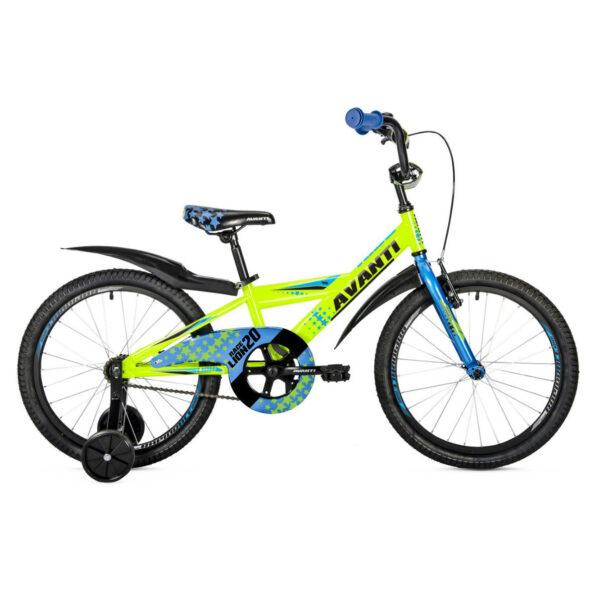 Фото Детский Велосипед 20 Avanti Lion 2018 зелено-синий
