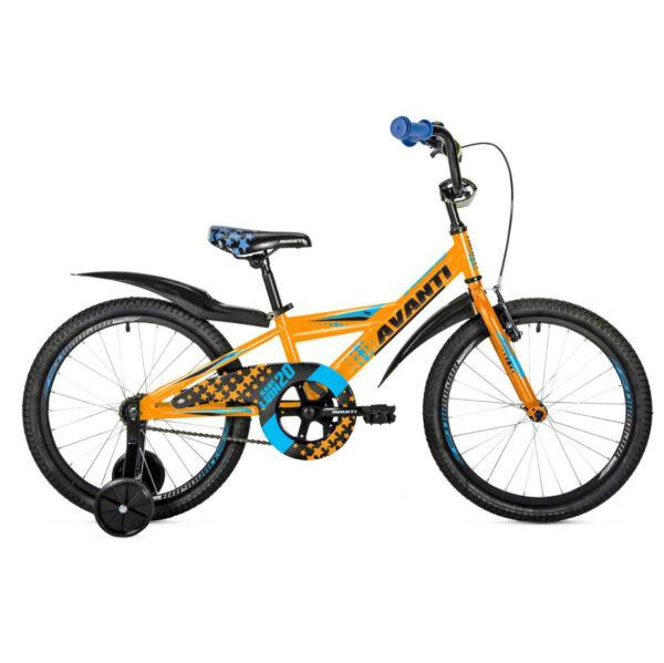 Фото Детский Велосипед 20 Avanti Lion 2018 оранжево-синий