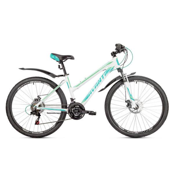 Фото Женский Велосипед  26 Avanti Omega Sport disk 2018  бело-бирюзовый