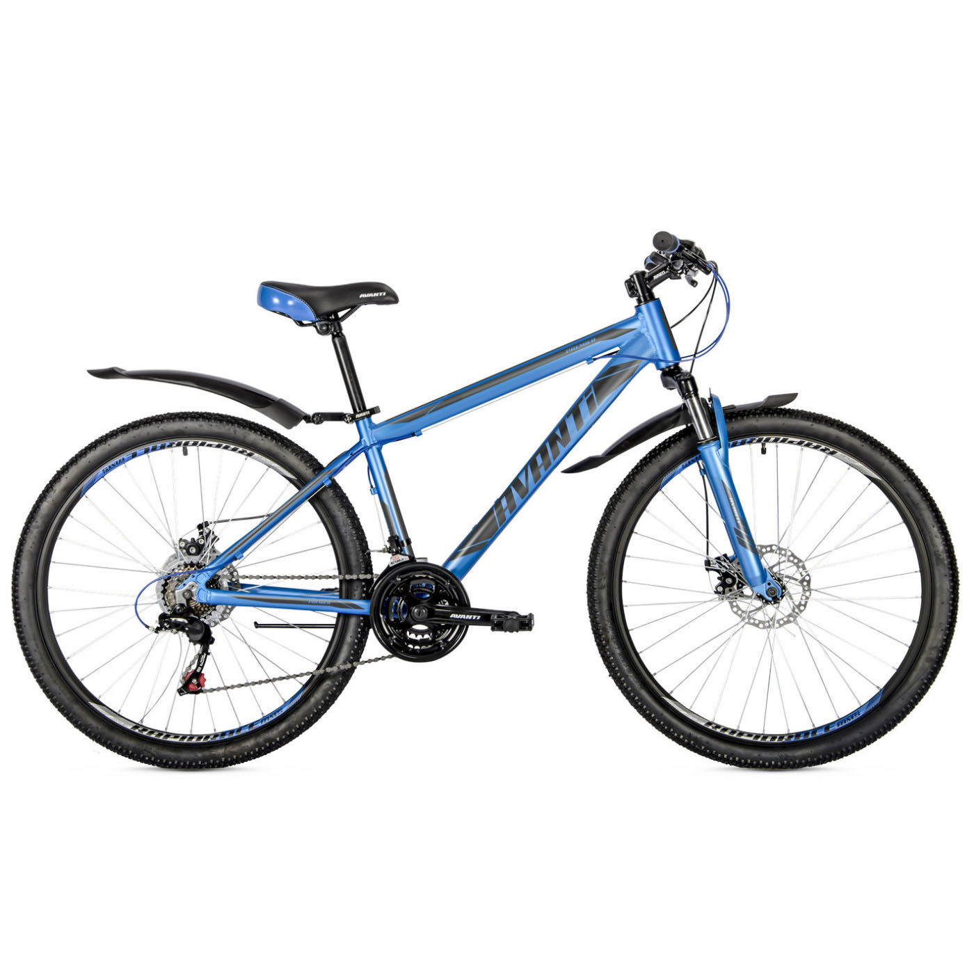 Фото Подростковый Велосипед 26 Avanti Premier disk 2018 синий