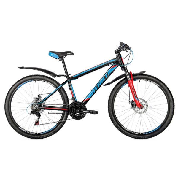 Фото Подростковый Велосипед 26 Avanti Premier disk 2018  черно-синий