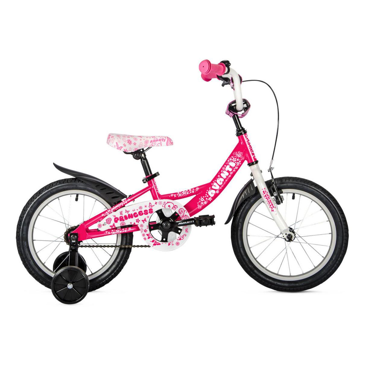 Фото Детский Велосипед 20 Avanti Princess 2018  розовый