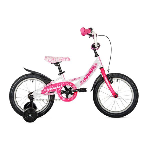 Фото Детский Велосипед 18 Avanti Princess 2018 бело-розовый
