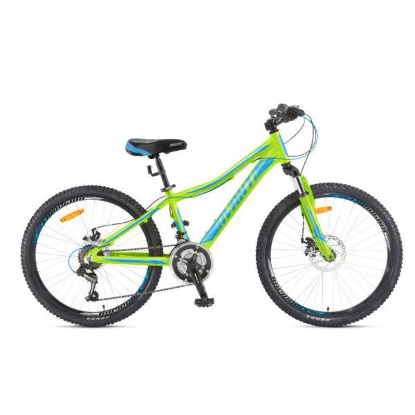 Фото Подростковый Велосипед 24 Avanti Rapid disk 2018 зелено-синий