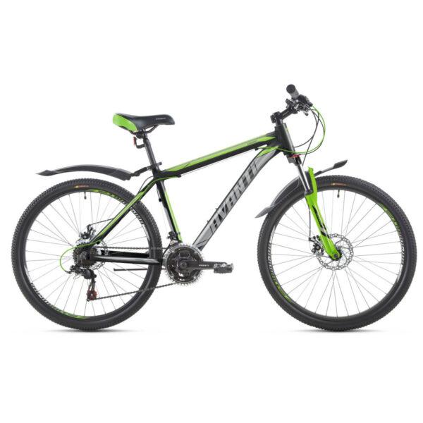 Фото Горный Велосипед   27,5 Avanti Smart disk 2018 вилка Lock Out черно-зеленый