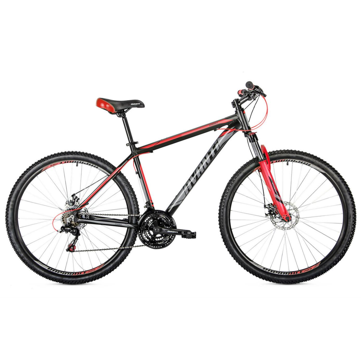 Фото Горный Велосипед   29 Avanti Smart disk 2018  вилка Lock Out черно-красный