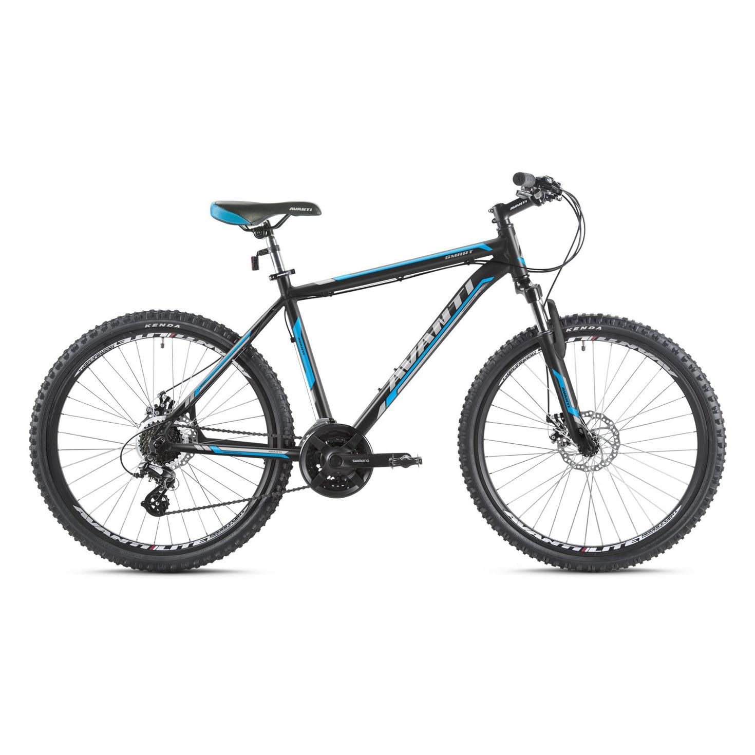 Фото Горный Велосипед   26 Avanti Smart disk 2016 черно-синий