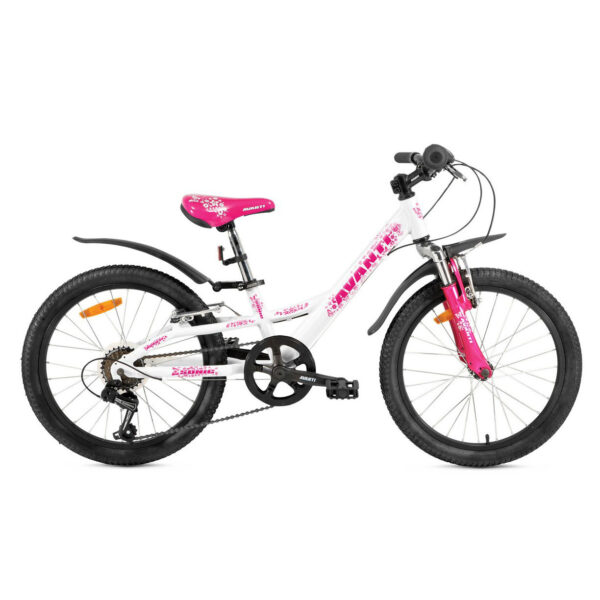 Фото Детский Велосипед 20 Avanti Sonic 2018 белый