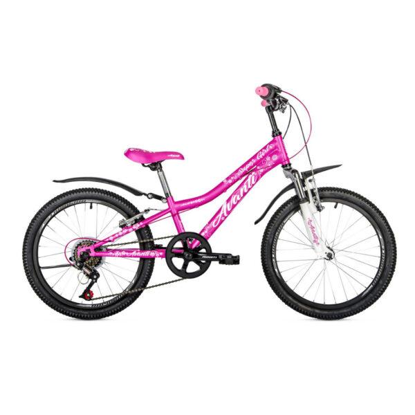 Фото Детский Велосипед 20 Avanti Super Girl 2018 розовый