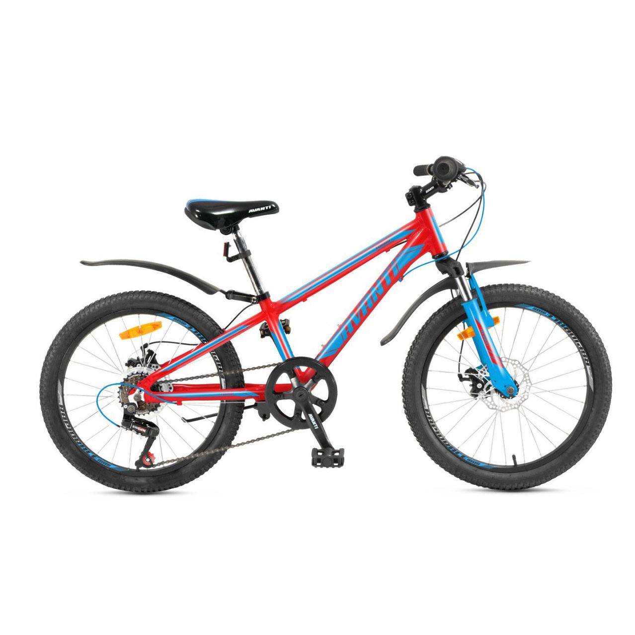 Фото Детский Велосипед 20 Avanti Turbo disk ALU красно-синий