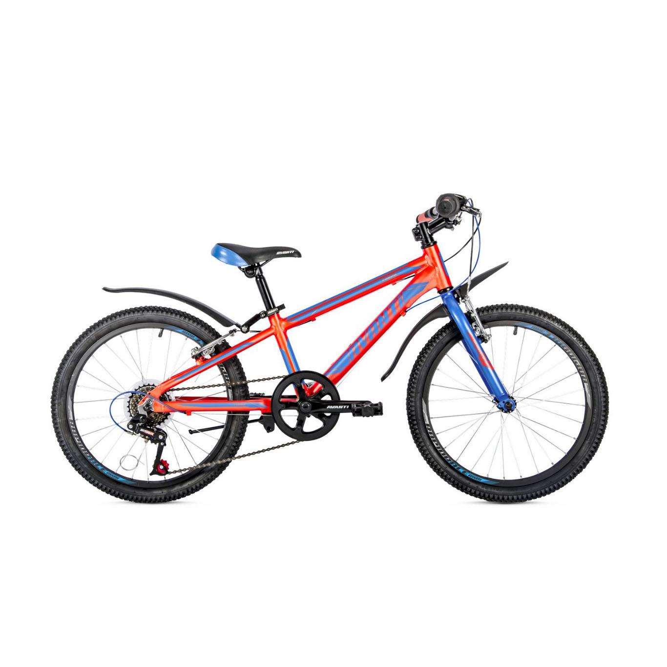 Фото Детский Велосипед 20 Avanti Turbo V-brake ALU красно-синий
