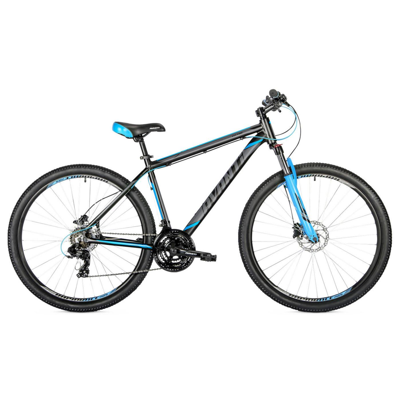 Фото Горный Велосипед   29 Avanti Vector disk 2018 вилка Lock Out черно-синий
