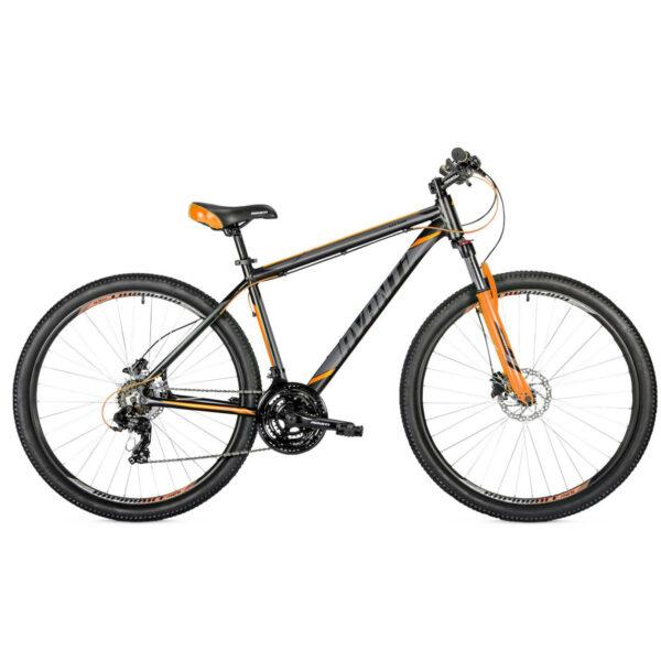 Фото Горный Велосипед   29 Avanti Vector disk 2018 вилка Lock Out черно-оранжевый