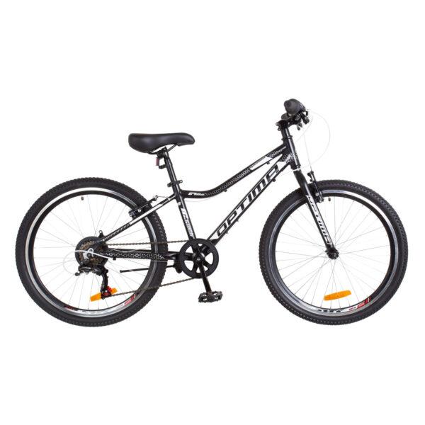 Фото Горный Велосипед 24 Optimabikes BLACKWOOD черно-белый