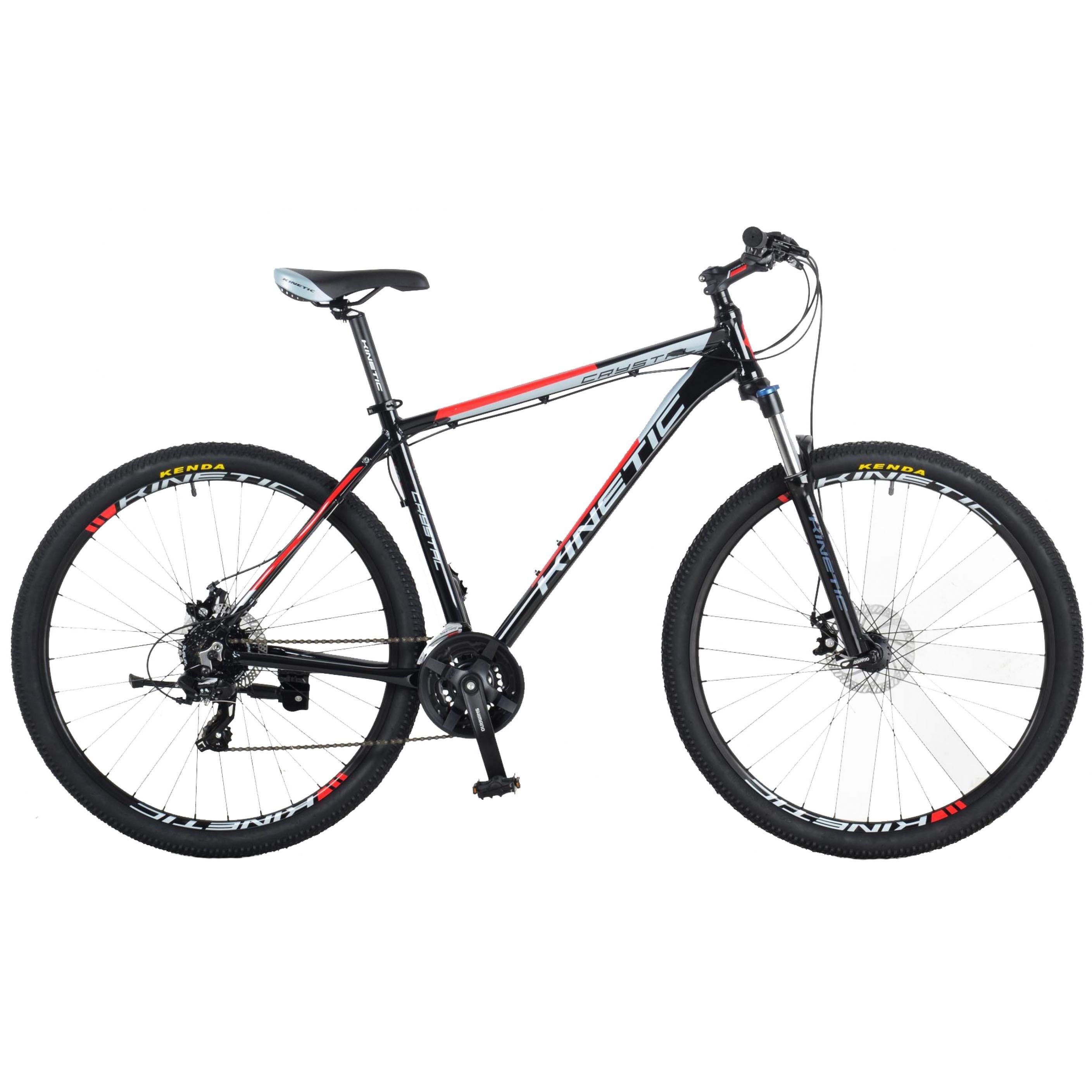 Фото Горный Велосипед  KINETIC 29″ CRYSTAL 20″ (черн-красн)