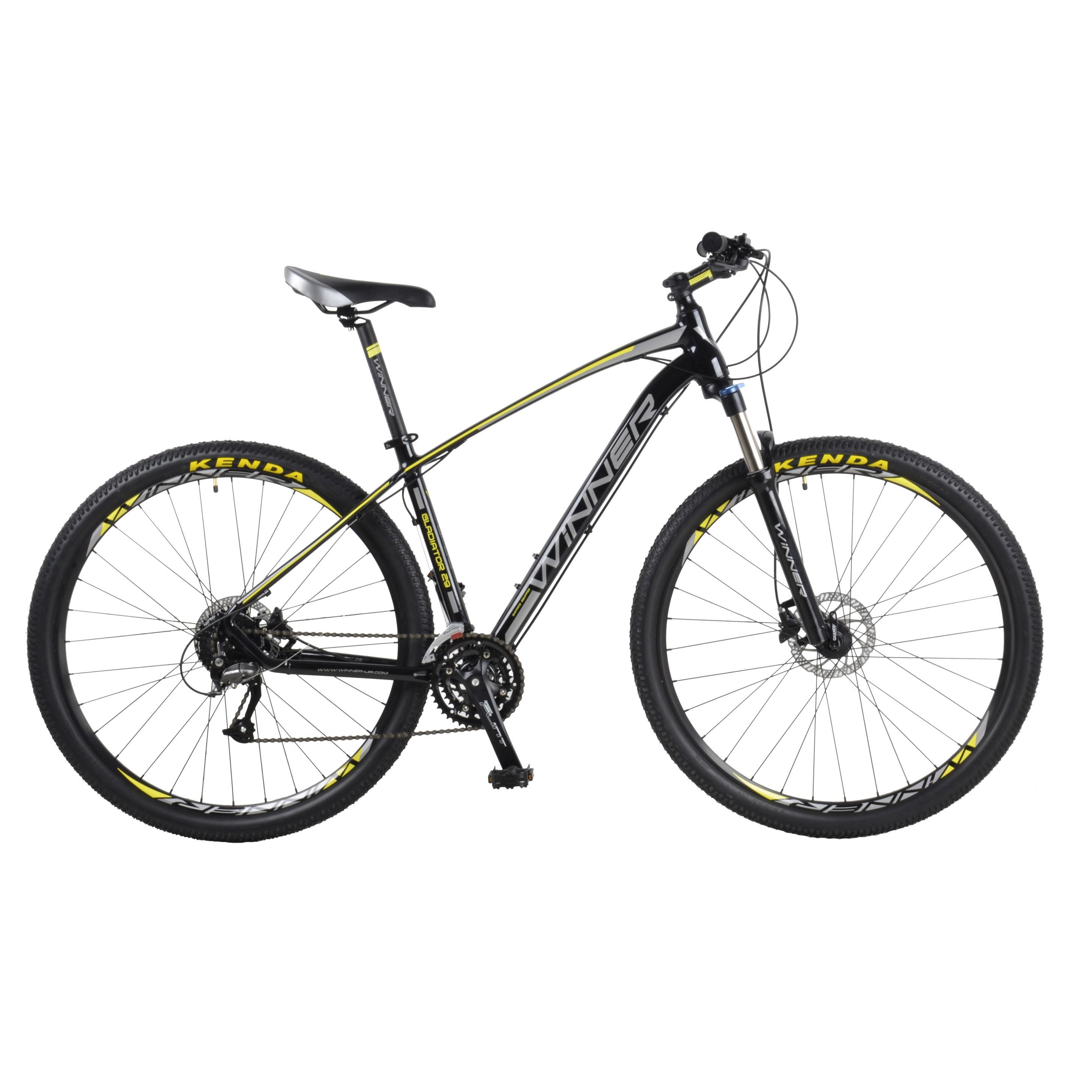 Фото Горный Велосипед Winner 29″ GLADIATOR  22″ (черный)