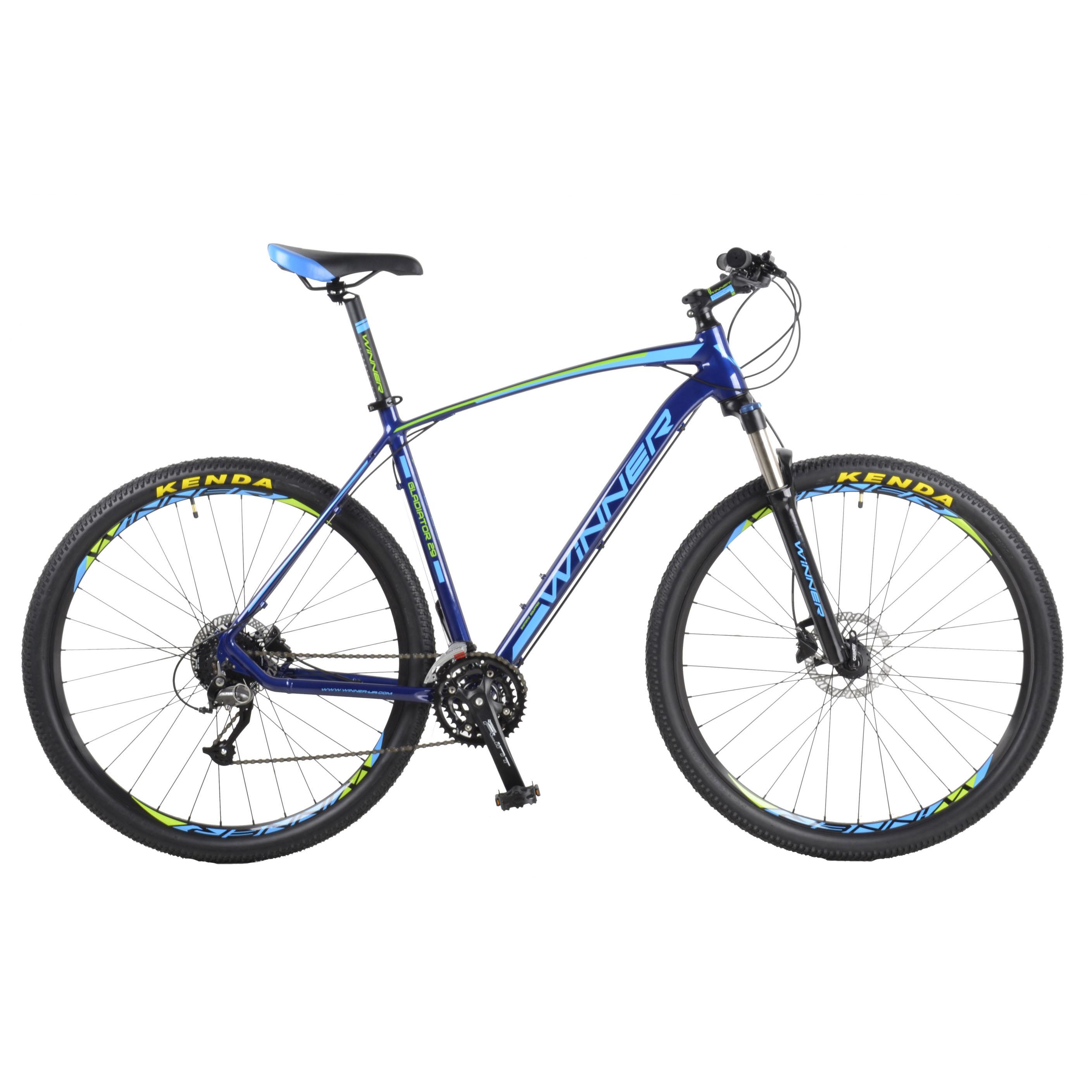 Фото Горный Велосипед Winner 29″ GLADIATOR  22″ (синий)