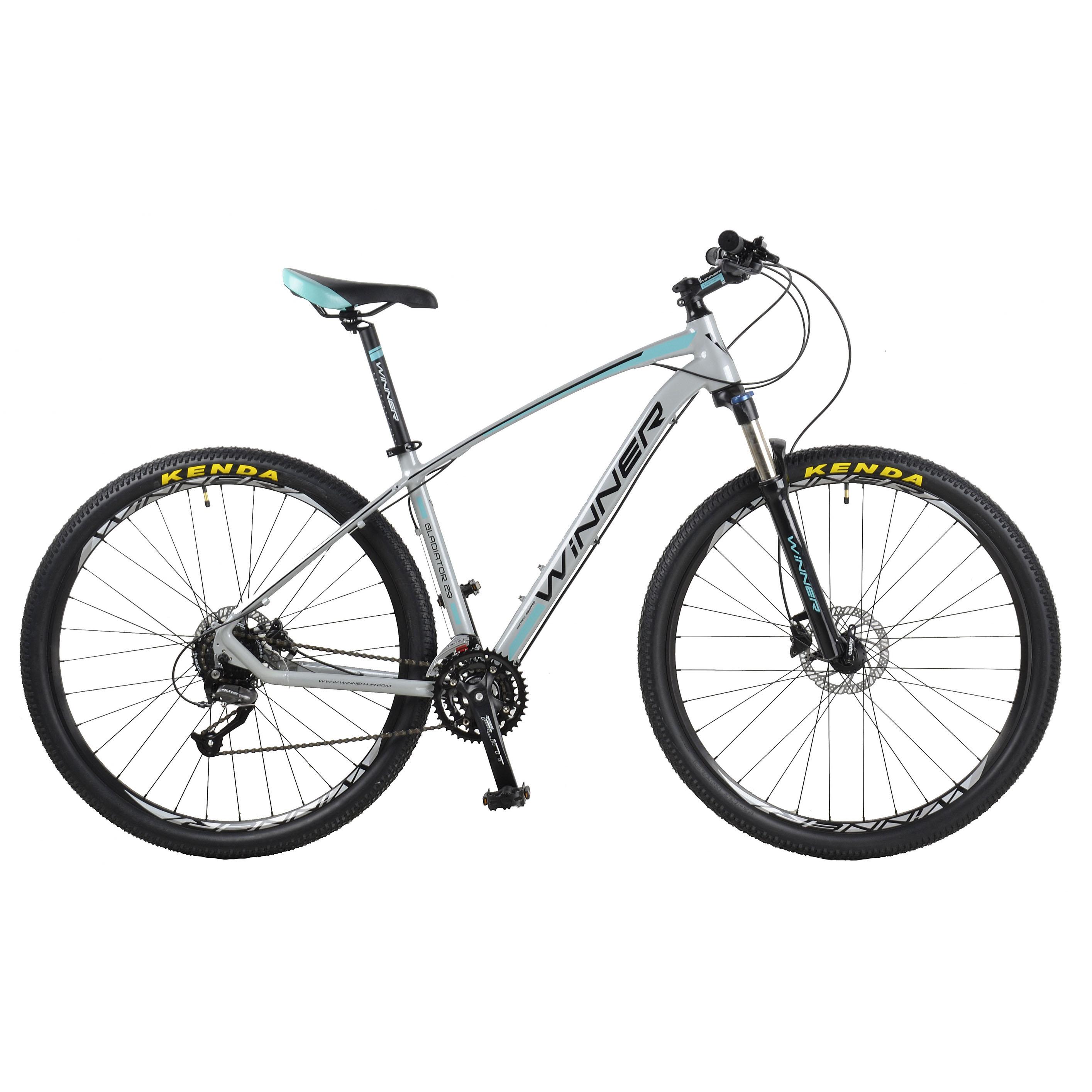 Фото Горный Велосипед Winner 29″ GLADIATOR  20″ (серый)