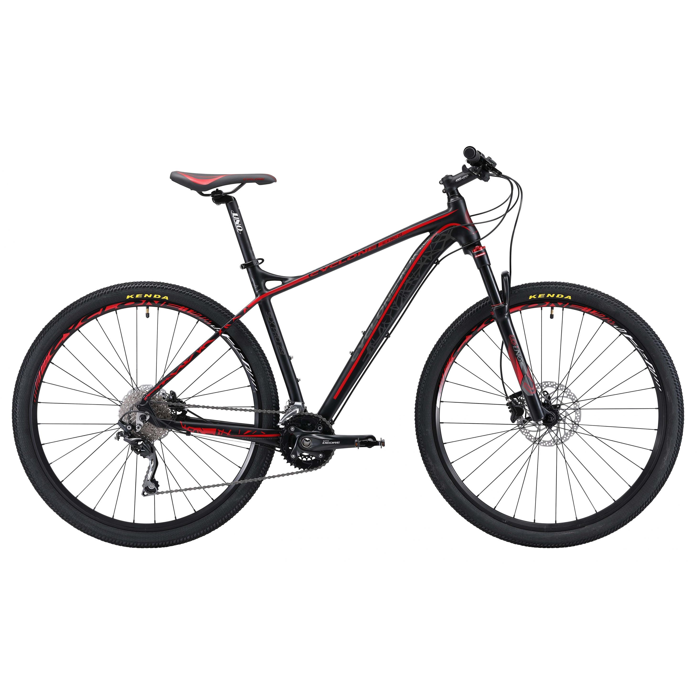 Фото Горный Велосипед CYCLONE 29″ SLX PRO NEW 20″ (черн-красн)
