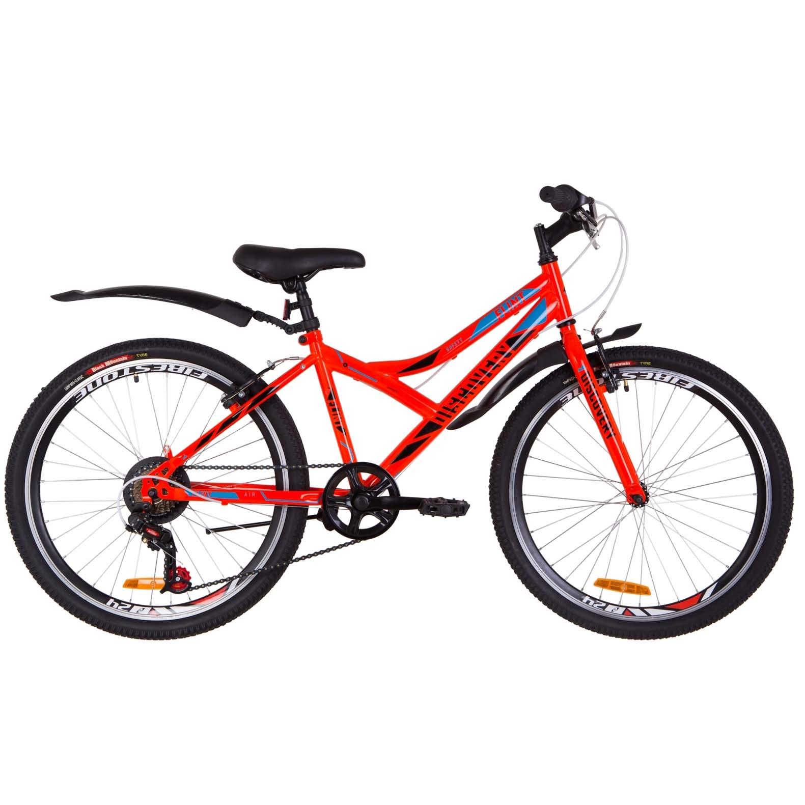Фото Подростковый Велосипед 24   Discovery FLINT оранжевый 2019