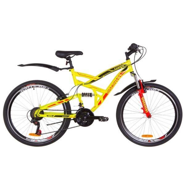 Фото Двухподвесный Велосипед 26  Discovery CANYON желтый 2019
