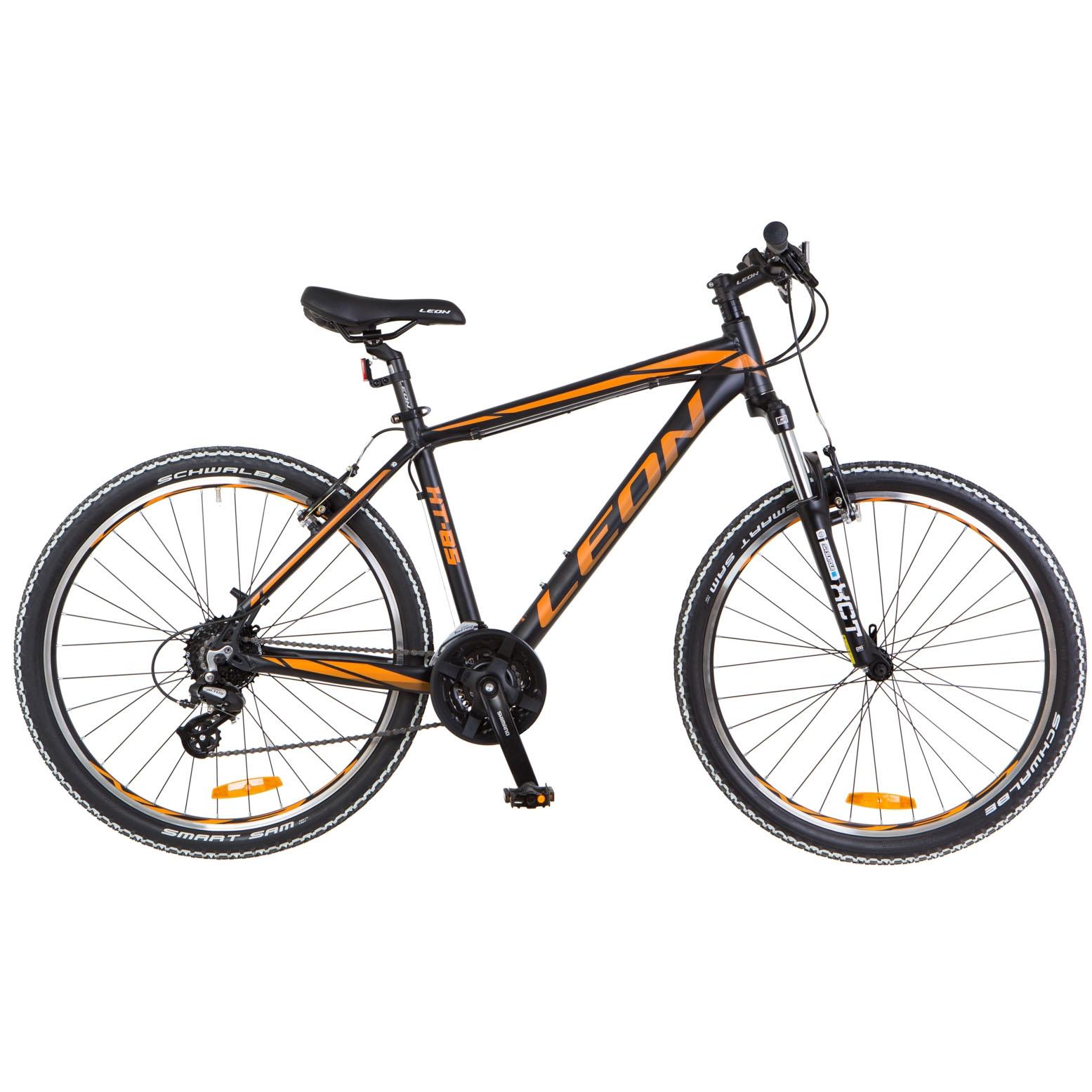 Фото Горный Велосипед 26  Leon HT-85 рама 20″ черно-оранжевый 2018