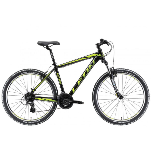 Фото Горный Велосипед 26  Leon HT-85 черно-салатный  2018