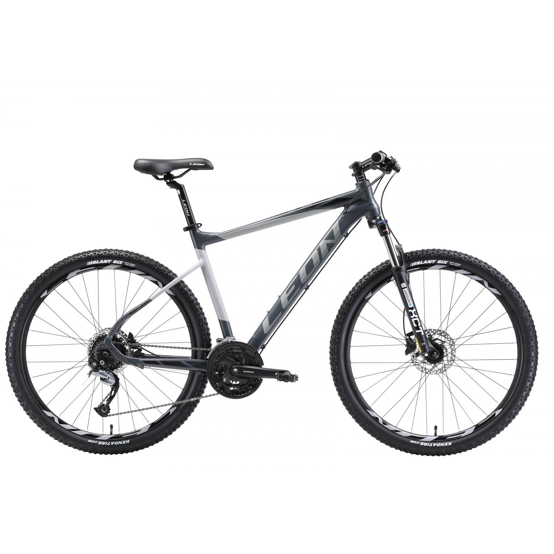 Фото Горный Велосипед 27.5  Leon XC-70 HDD рама 18″ серо-черный (м) 2018