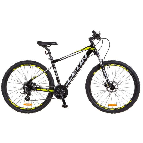 Фото Горный Велосипед 27.5  Leon XC-80 HDD черно-салатный с белым  2018