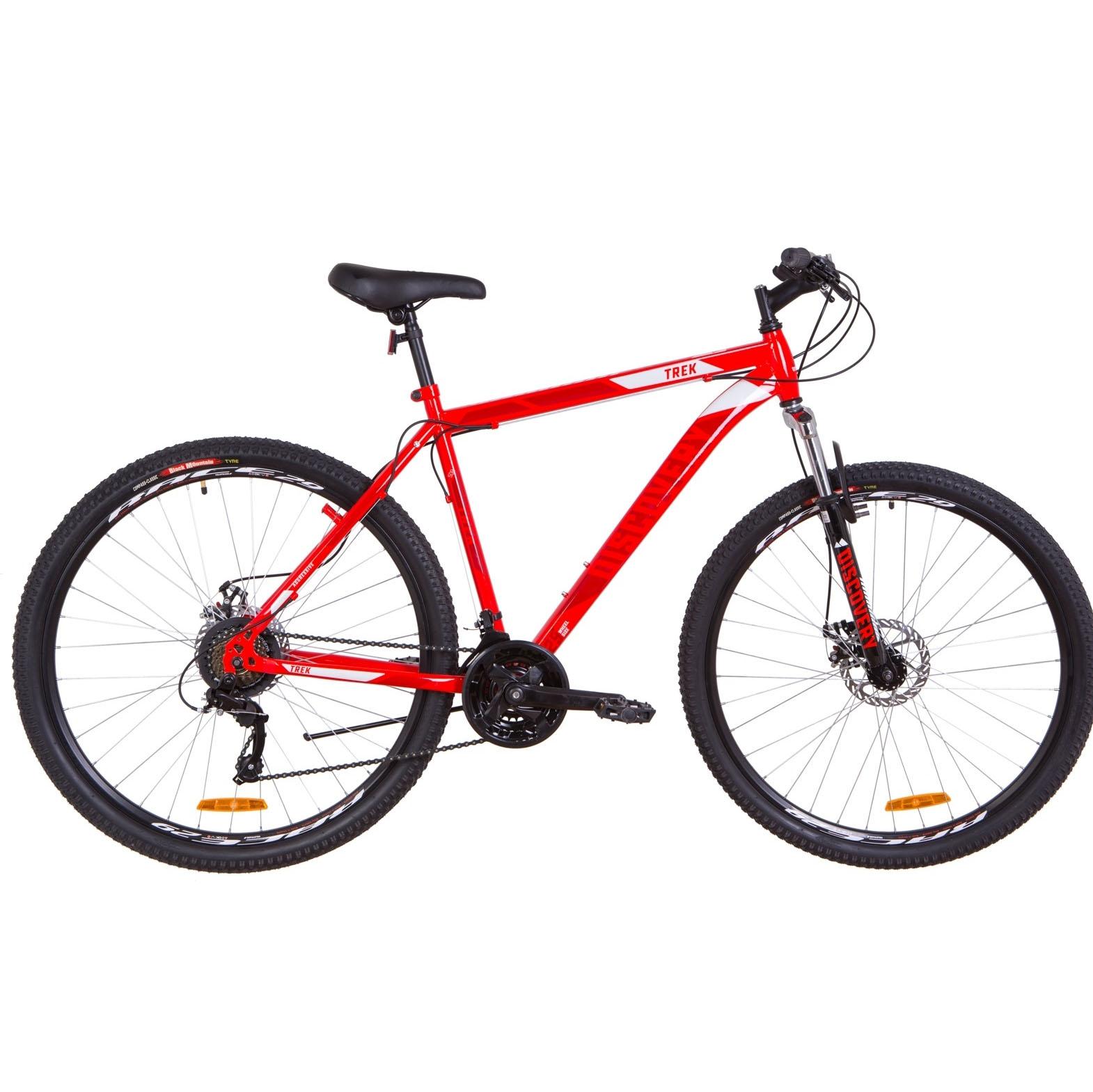 Фото Горный Велосипед 29  Discovery TREK DD красный 2019