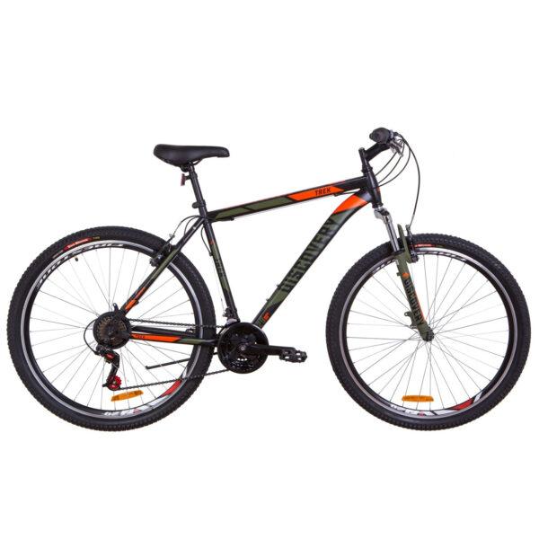 Фото Горный Велосипед 29  Discovery TREK черно-оранжевый хаки (м) 2019