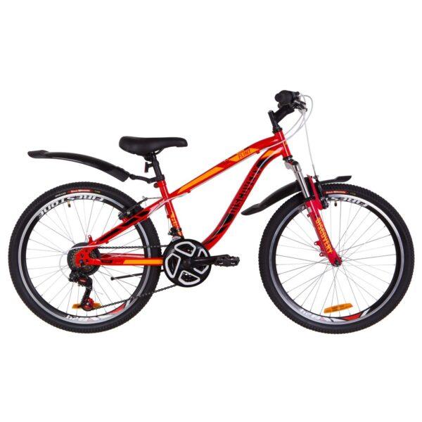 Фото Подростковый Велосипед 24  Discovery FLINT  красно-оранжевый   2019