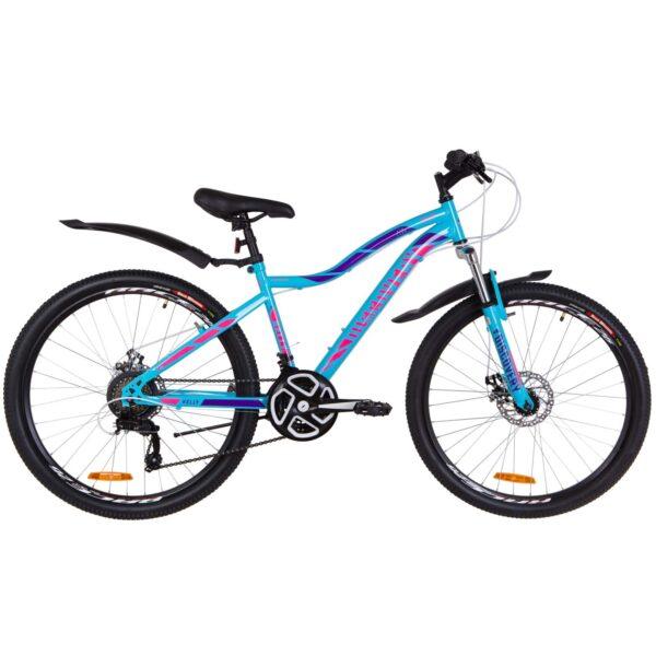 Фото Женский Велосипед 26  Discovery KELLY DD голубой с розовым 2019