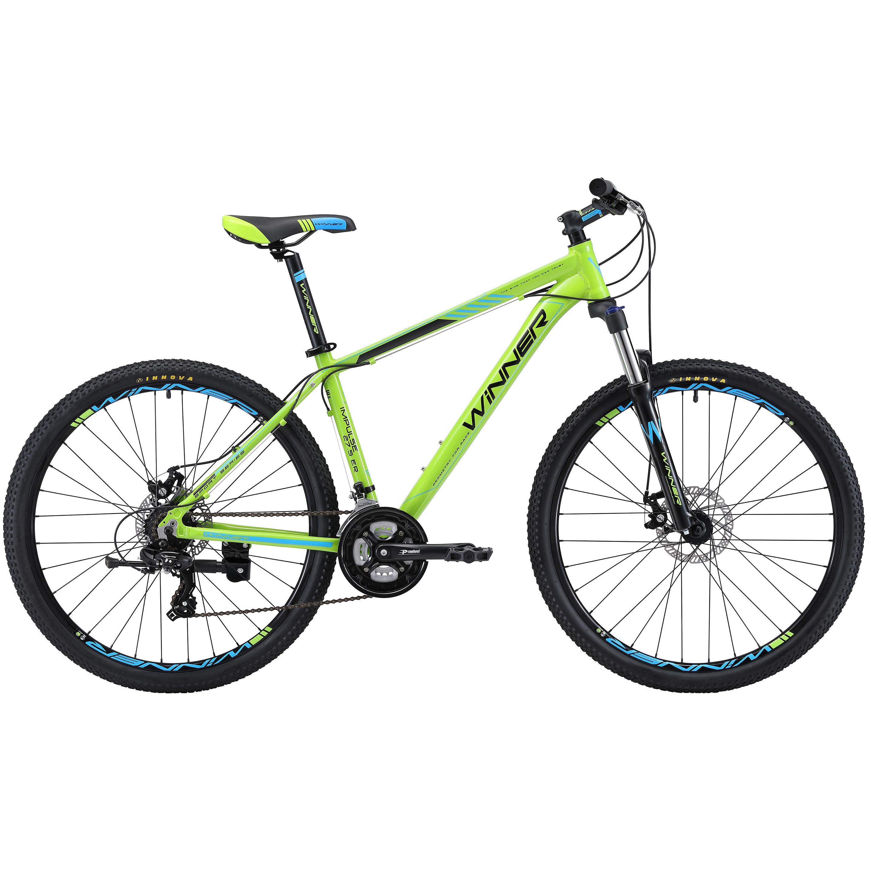 Фото Горный Велосипед Winner 27,5″ IMPULSE  19″ (зеленый)